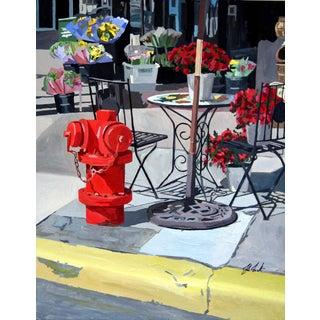 Giclee Print of Urban Garden For Sale