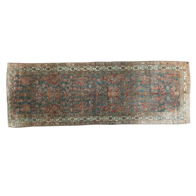 "Vintage Northwest Persian Rug Runner - 3' X 8'6"" For Sale - Image 11 of 11"