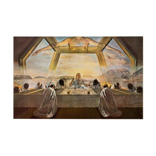 "1957 Salvador Dalí, Original ""The Last Supper"" Original Period Photogravure For Sale"