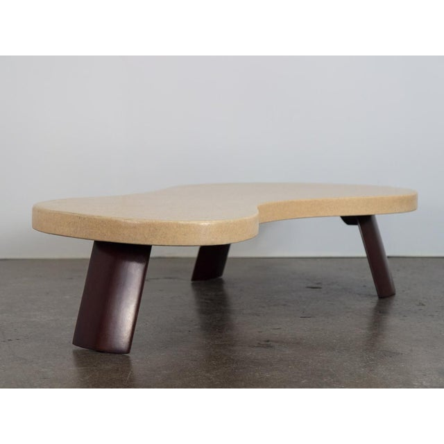 """Wood Paul Frankl """"Big Foot"""" Model #5028 Table For Sale - Image 7 of 10"""