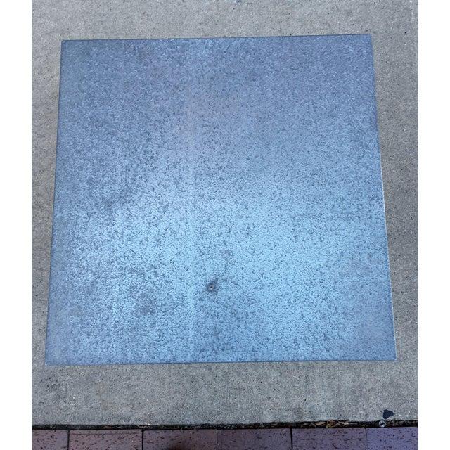 Steel Side Table on Wheels - Image 5 of 6