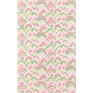 Madcap Cottage Embrace Cloud Club Pink Area Rug 8' X 10' For Sale