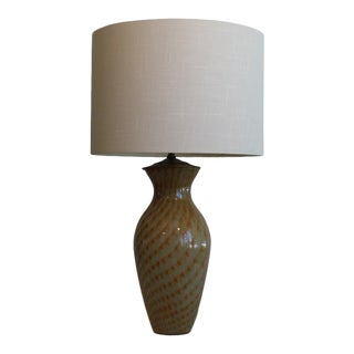 An Unusual Blended Murano Table Lamp For Sale