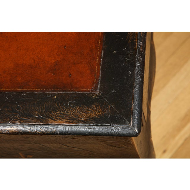 Wood Painted Louis XV Style Console Table For Sale - Image 7 of 13