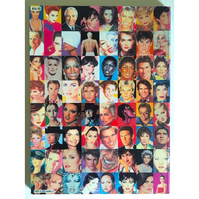 "Richard Bernstein 1984 Rare 1st Edition ""Megastar"" Pop Art Oversized Collector's Book For Sale - Image 10 of 11"