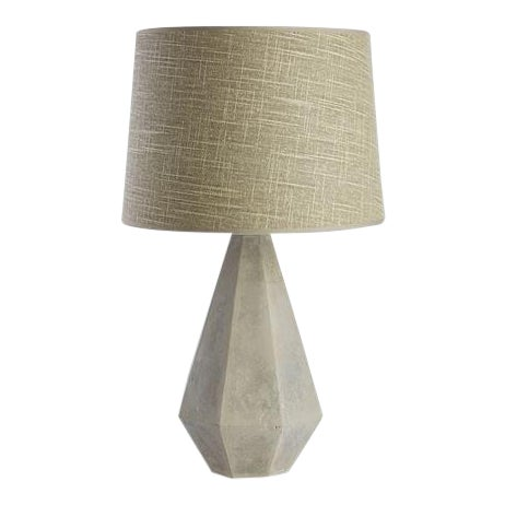 Kenneth Ludwig Chicago Rex Concrete Lamp For Sale