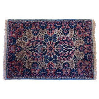 Vintage Mid-Century Semi-Antique Kirman Rug - 2″ × 3″