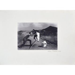 1947 Edward Weston at Oceano Dunes by Chandler Weston For Sale