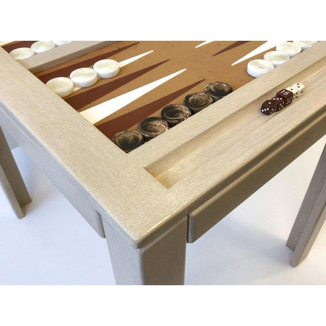 Steve Chase Lacquered Backgammon Table by Steve Chase For Sale - Image 4 of 11