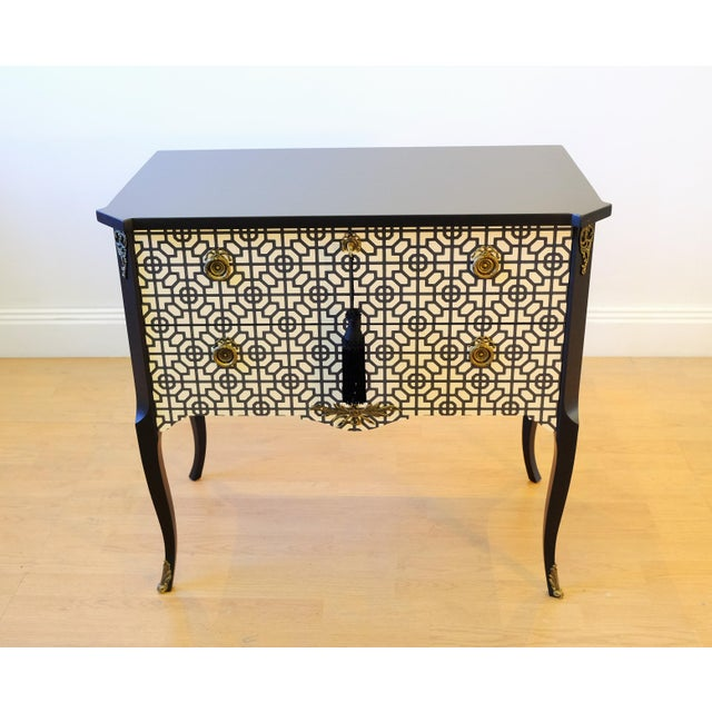 Black Art Deco Commode For Sale - Image 8 of 12