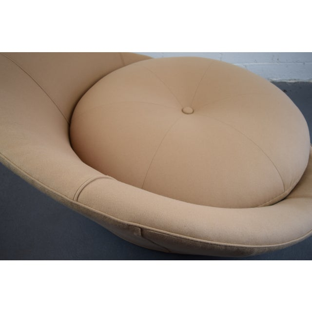 Milo Baughman Round Lounger Settee For Sale - Image 10 of 11