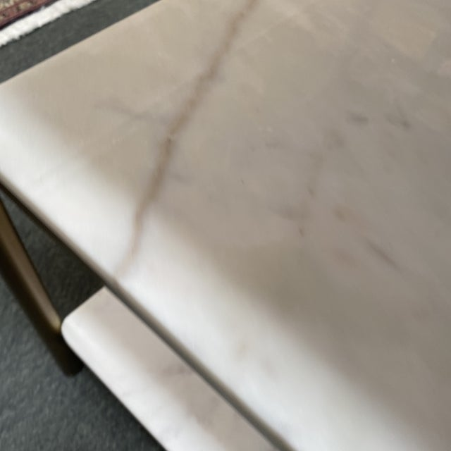 Metal New Alder & Tweed Hollywood End Table For Sale - Image 7 of 11