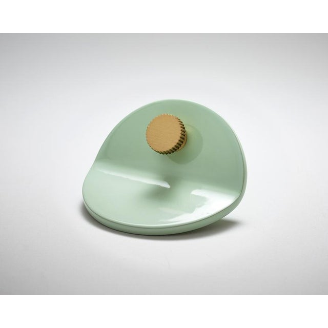 Modern Nest Studio Collection Geo-C-01 Mint Pull For Sale - Image 3 of 3