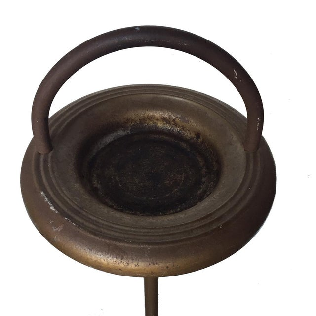 Art Deco Vintage Standing Ashtray For Sale - Image 3 of 6