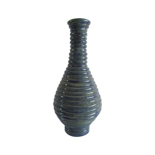 Blue Coil Floor Vase - Image 1 of 5