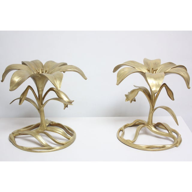 Pair of Arthur Court 'Lily' Side Tables - Image 5 of 11