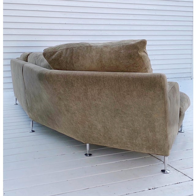 Taupe B&b Italia Harry Sectional and Chair - a Pair For Sale - Image 8 of 13