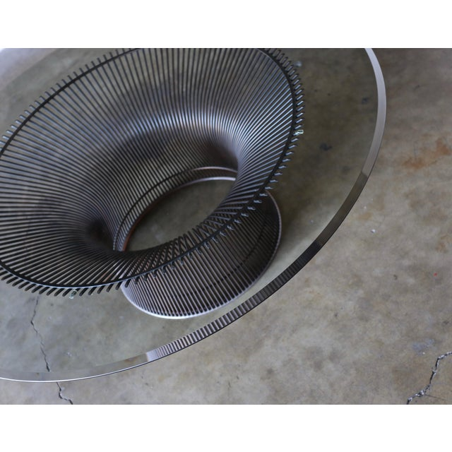 Mid-Century Modern 1960s Vintage Warren Platner for Knoll Bronze Coffee Table For Sale - Image 3 of 12