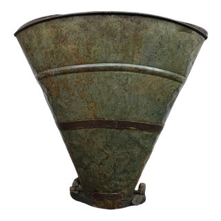 19th Century Grape Hod Bucket For Sale