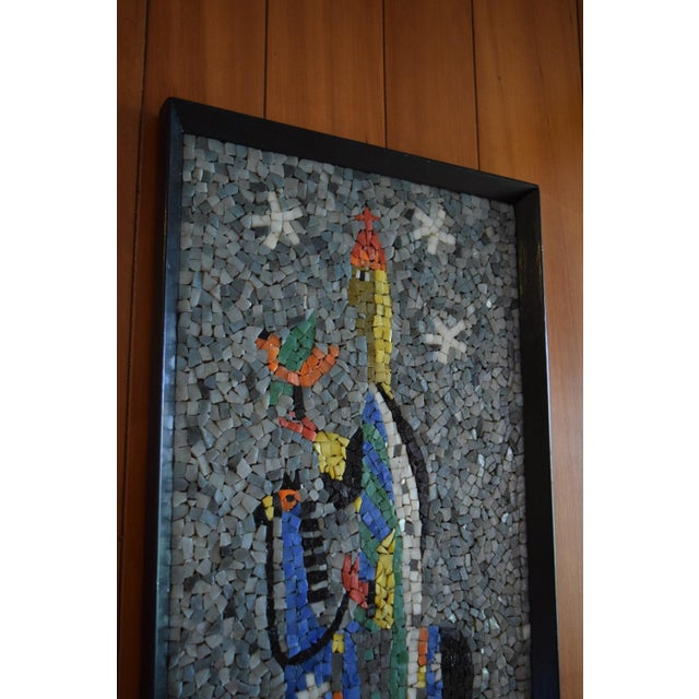 """""""Falconer"""" California Modern Mosaic Panel For Sale In Milwaukee - Image 6 of 7"""