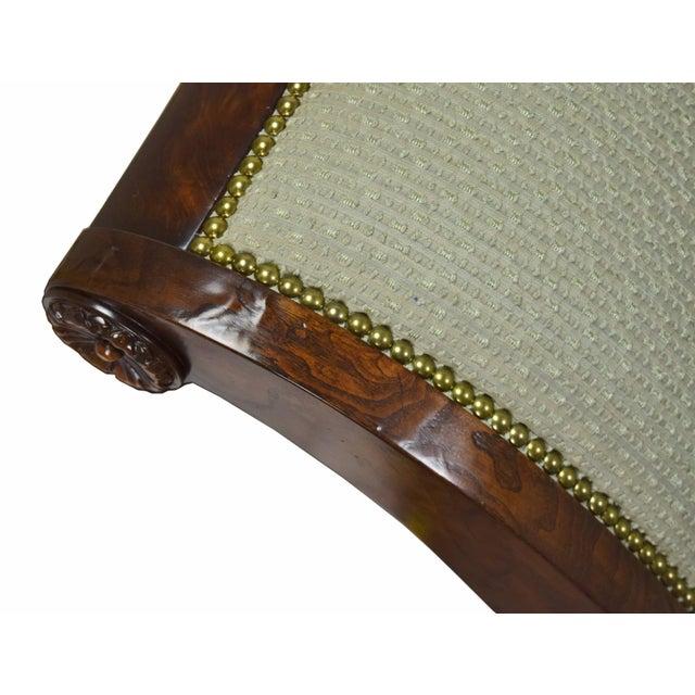 Wood 2000's William Switzer Classic Austrian Biedermeier Style Sofa For Sale - Image 7 of 10