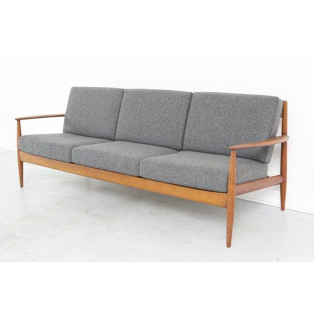 Grete Jalk for France + Daverkosen Teak Wood Sofa - Image 3 of 11