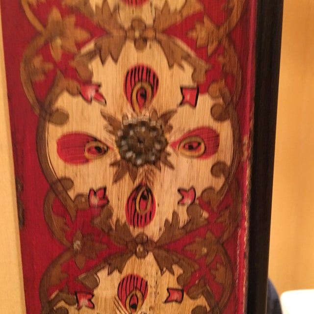 Spanish Style Red Mirror - Image 3 of 7