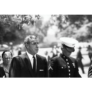 Joe DiMaggio Photograph at Marilyn Monroe Funeral by Lawrence Schiller, 32/75 For Sale