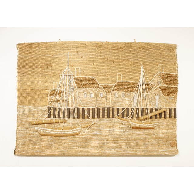 Don Freedman Nautical Hanging Textile Art | Chairish