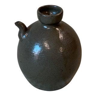 Japanese Late Edo Period Ships Sake Bottle For Sale