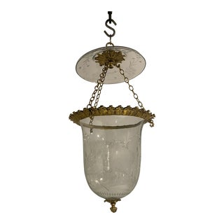 1930s French Gilt Bronze Lanterns For Sale