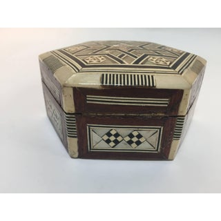 Syrian Mother-Of-Pearl Inlaid Octagonal Box Preview