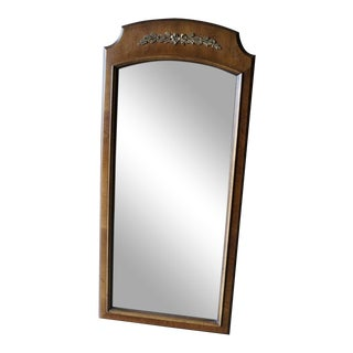 Henredon French Regency Wood Framed Mirror For Sale