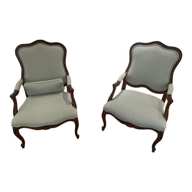 Ethan Allen Chantel Side Chairs - a Pair For Sale