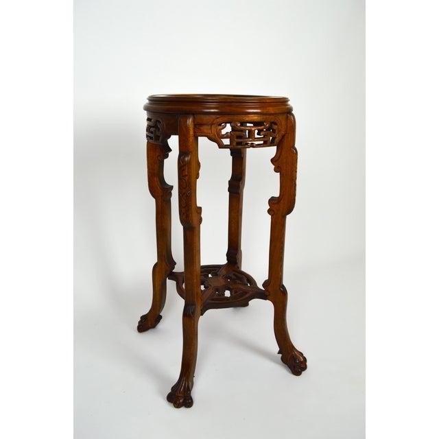 Japonisme Pedestal Table / Pot Stand For Sale - Image 9 of 13