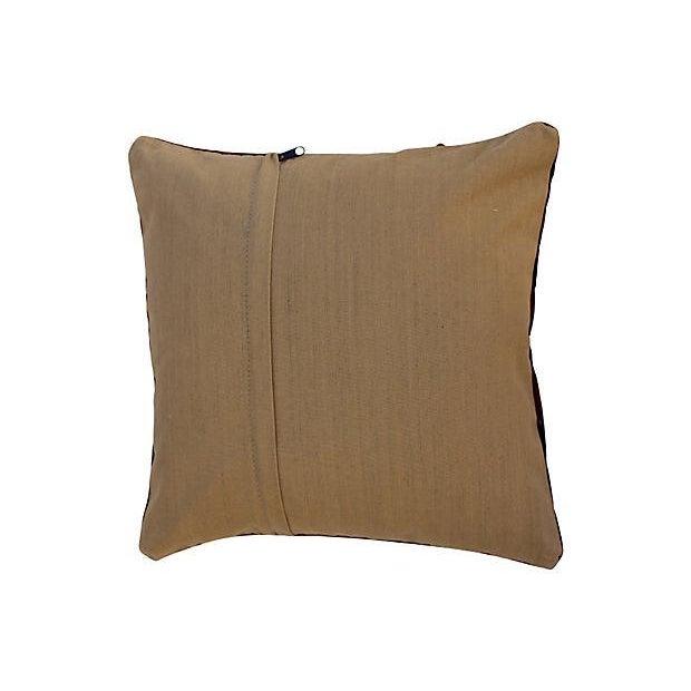 Striped Turkish Kilim Pillows - A Pair - Image 3 of 4