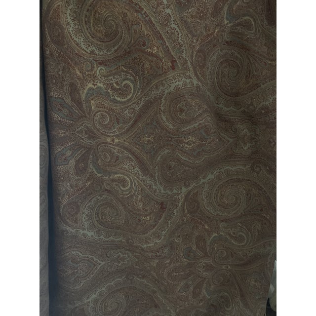 Traditional Ralph Lauren Assyrian Paisley Moss For Sale - Image 3 of 4