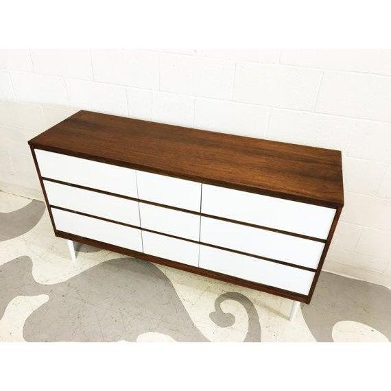 Two-Tone Mid-Century Modern Dresser - Image 5 of 6