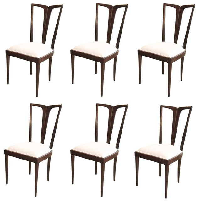 Osvaldo Borsani Dining Chairs - Set of 6 For Sale - Image 6 of 6