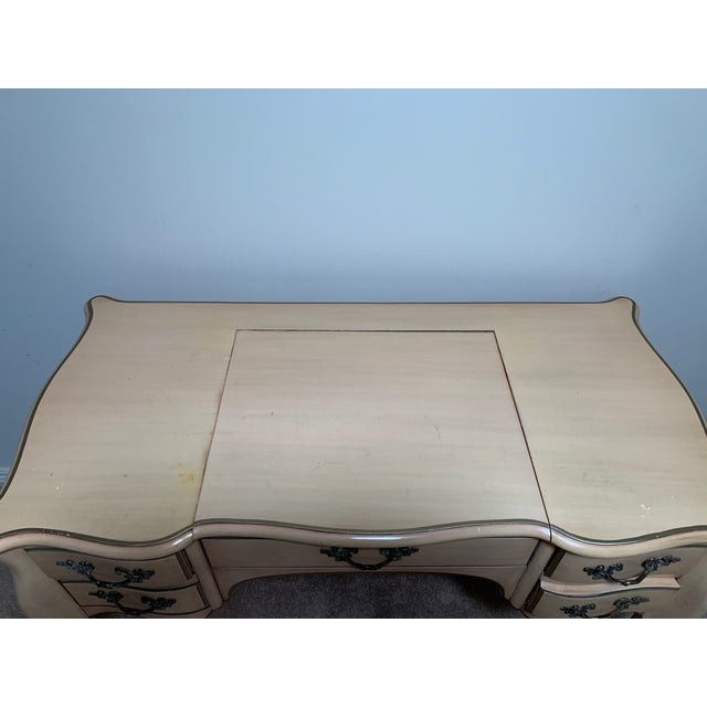 French Karges Vanity Dressing Table - a Pair For Sale - Image 3 of 8