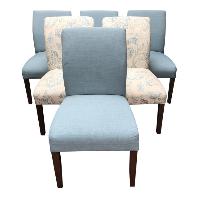 Ballard Contemporary Dining Chairs - Set of 6 For Sale