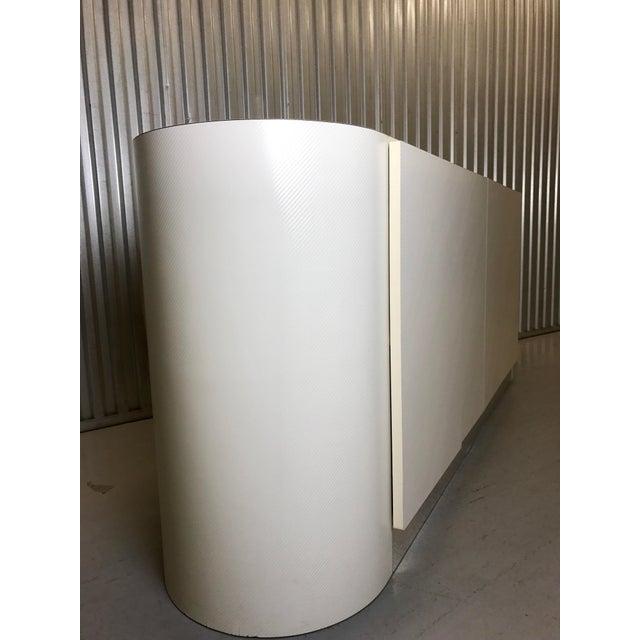 Karl Springer White Credenza For Sale In Tampa - Image 6 of 11