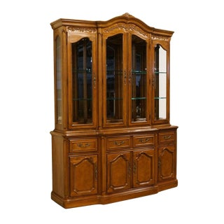 "Thomasville Furniture French Court French Country 67"" China Cabinet For Sale"