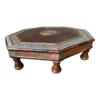 Late 19th Century Anglo Raj Low Coffee Table For Sale