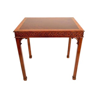 Traditional Mahogany Sheraton Style Side Table