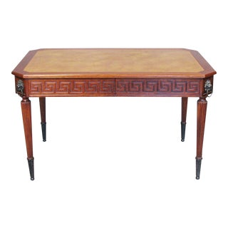 English Regency Style Desk For Sale