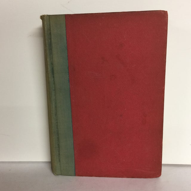 New York: Harper & Brothers Publishers, 1931. First edition; 11th printing. Hardcover; no DJ. Red boards and cloth covered...