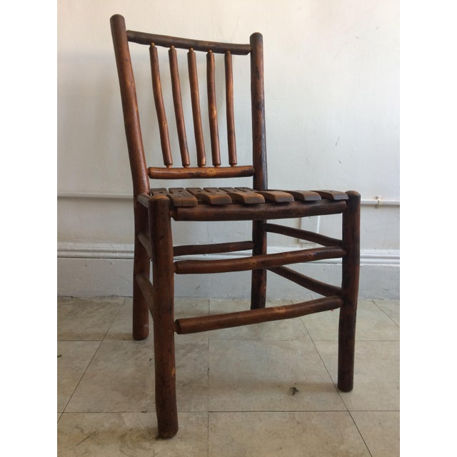 Adirondack Vintage Old Hickory Rustic Dining Chairs - Set of 4 For Sale -  Image 3 - Vintage Old Hickory Rustic Dining Chairs - Set Of 4 Chairish