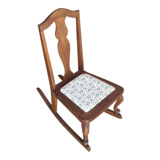 Americana Miniature Sewing Rocking Chair For Sale