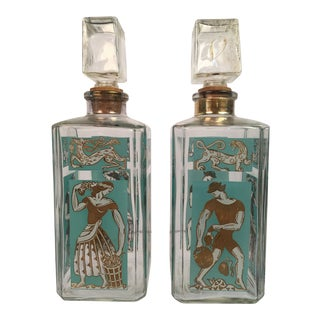 Vintage Decanters - A Pair For Sale